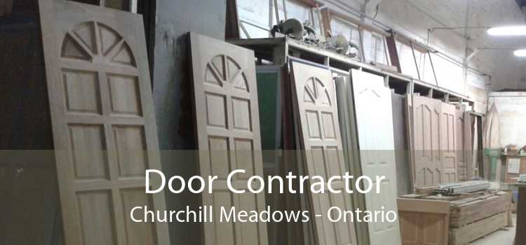 Door Contractor Churchill Meadows - Ontario