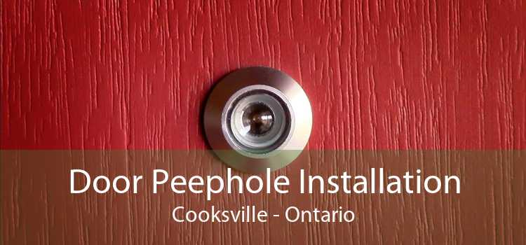 Door Peephole Installation Cooksville - Ontario