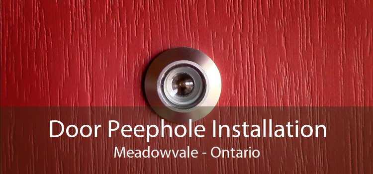 Door Peephole Installation Meadowvale - Ontario
