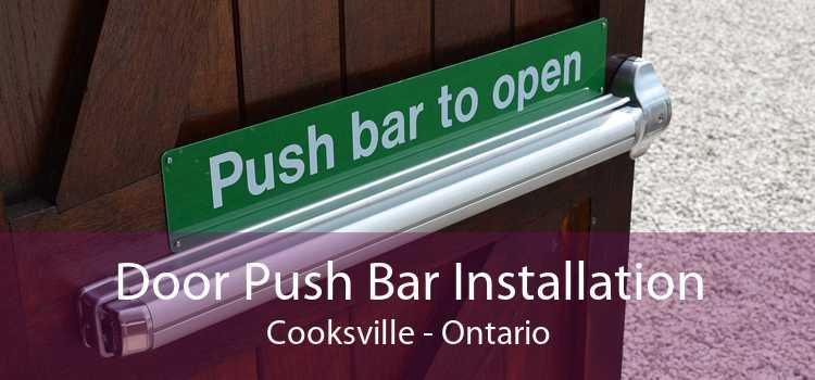 Door Push Bar Installation Cooksville - Ontario