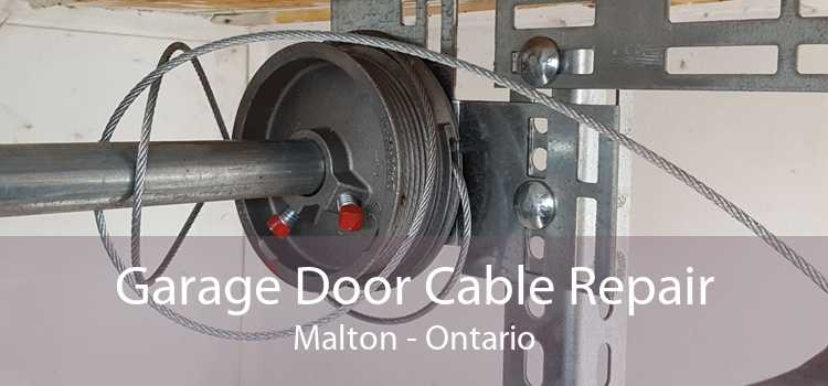 Garage Door Cable Repair Malton - Ontario