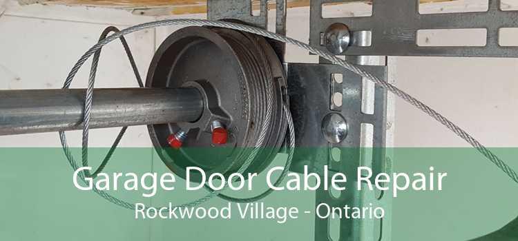 Garage Door Cable Repair Rockwood Village - Ontario