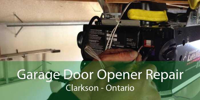 Garage Door Opener Repair Clarkson - Ontario