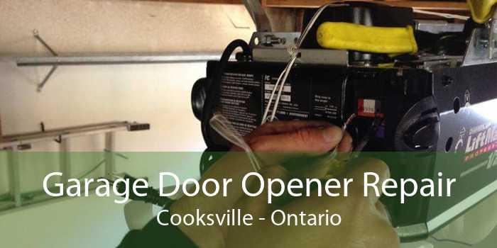 Garage Door Opener Repair Cooksville - Ontario