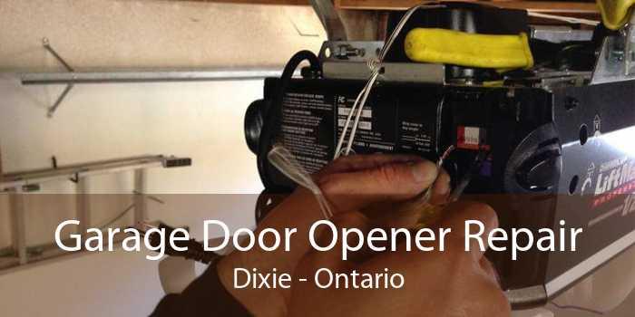 Garage Door Opener Repair Dixie - Ontario