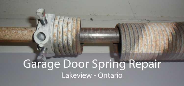 Garage Door Spring Repair Lakeview - Ontario