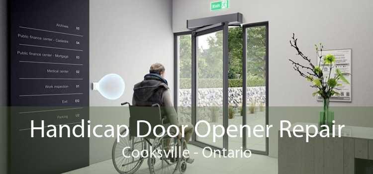 Handicap Door Opener Repair Cooksville - Ontario