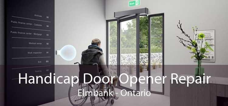 Handicap Door Opener Repair Elmbank - Ontario