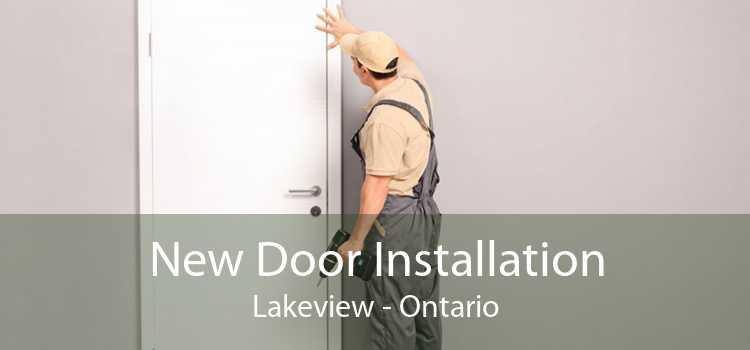 New Door Installation Lakeview - Ontario