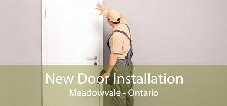 New Door Installation Meadowvale - Ontario