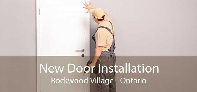 New Door Installation Rockwood Village - Ontario