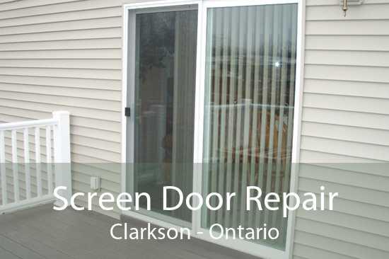 Screen Door Repair Clarkson - Ontario