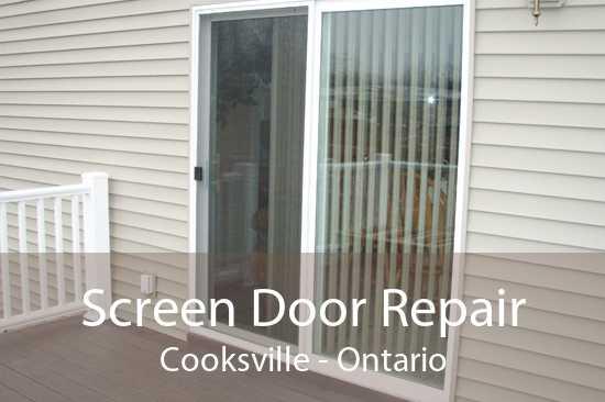 Screen Door Repair Cooksville - Ontario