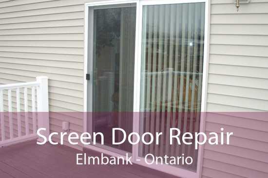 Screen Door Repair Elmbank - Ontario