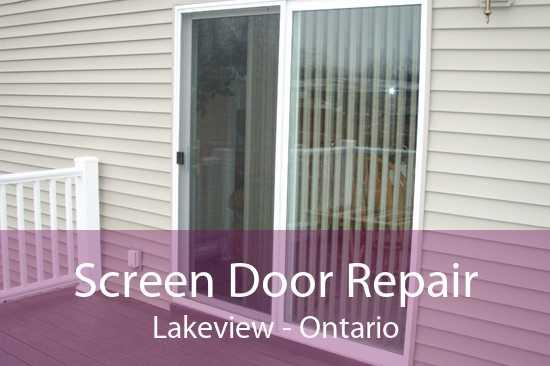 Screen Door Repair Lakeview - Ontario