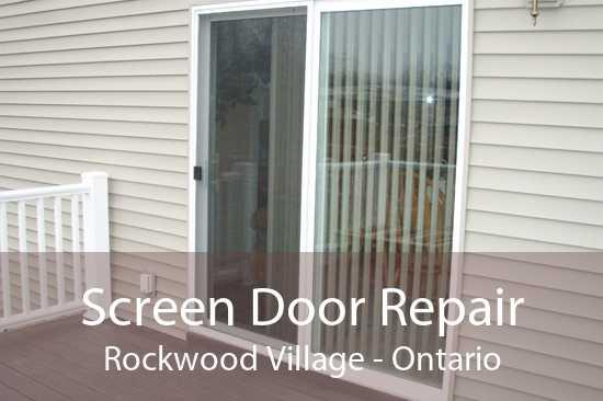 Screen Door Repair Rockwood Village - Ontario